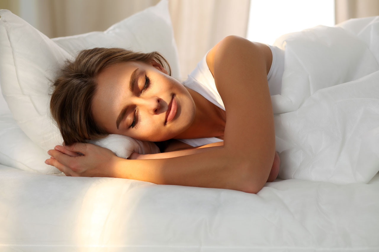 Schlafen hilft dem Körper sich zu erholen.