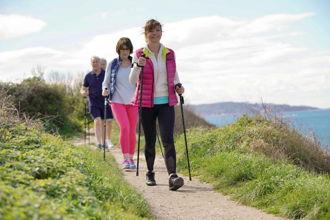 Burnout Kliniken bieten sportliche Aktivitäten an.