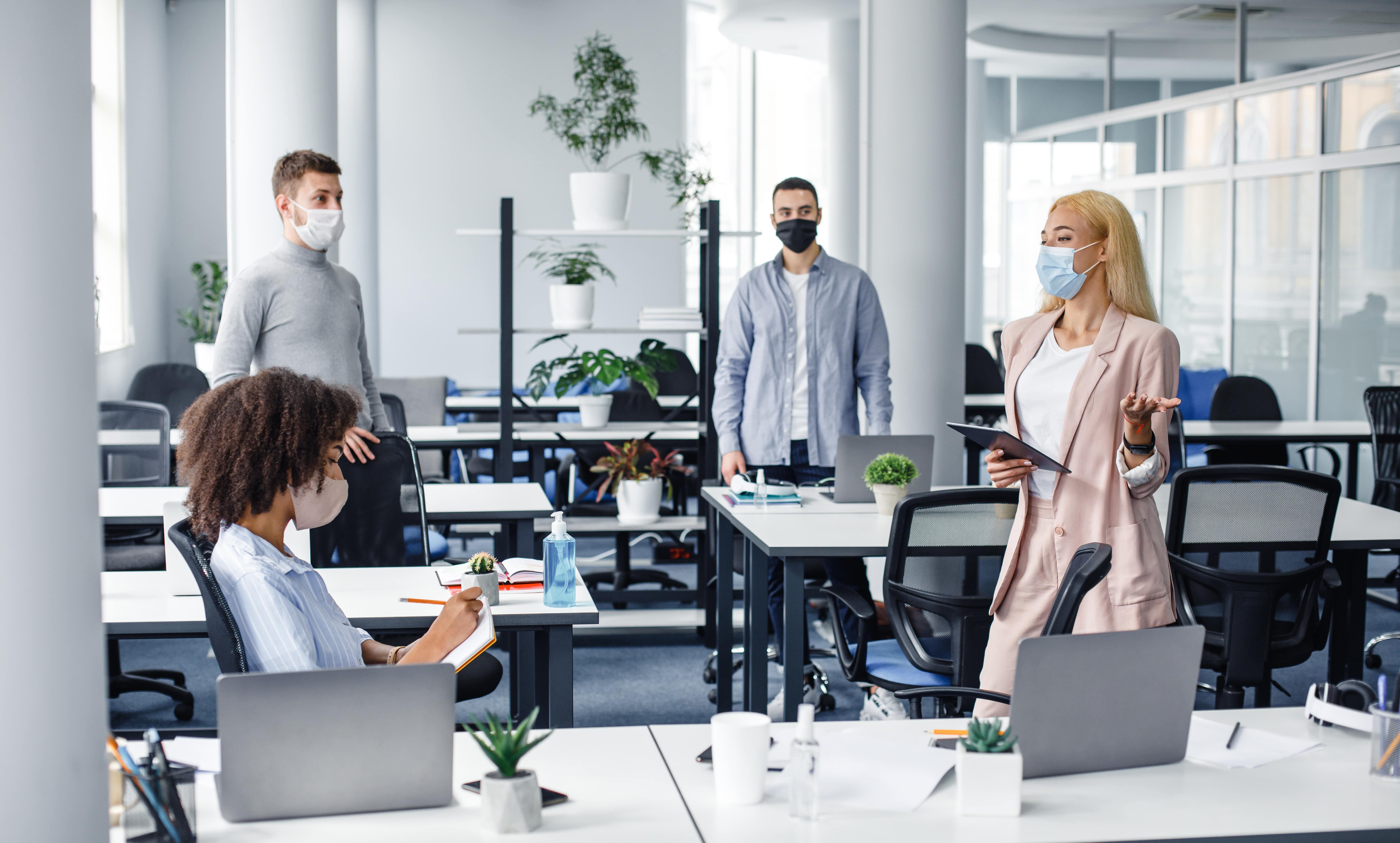 Unterweisung im Büro