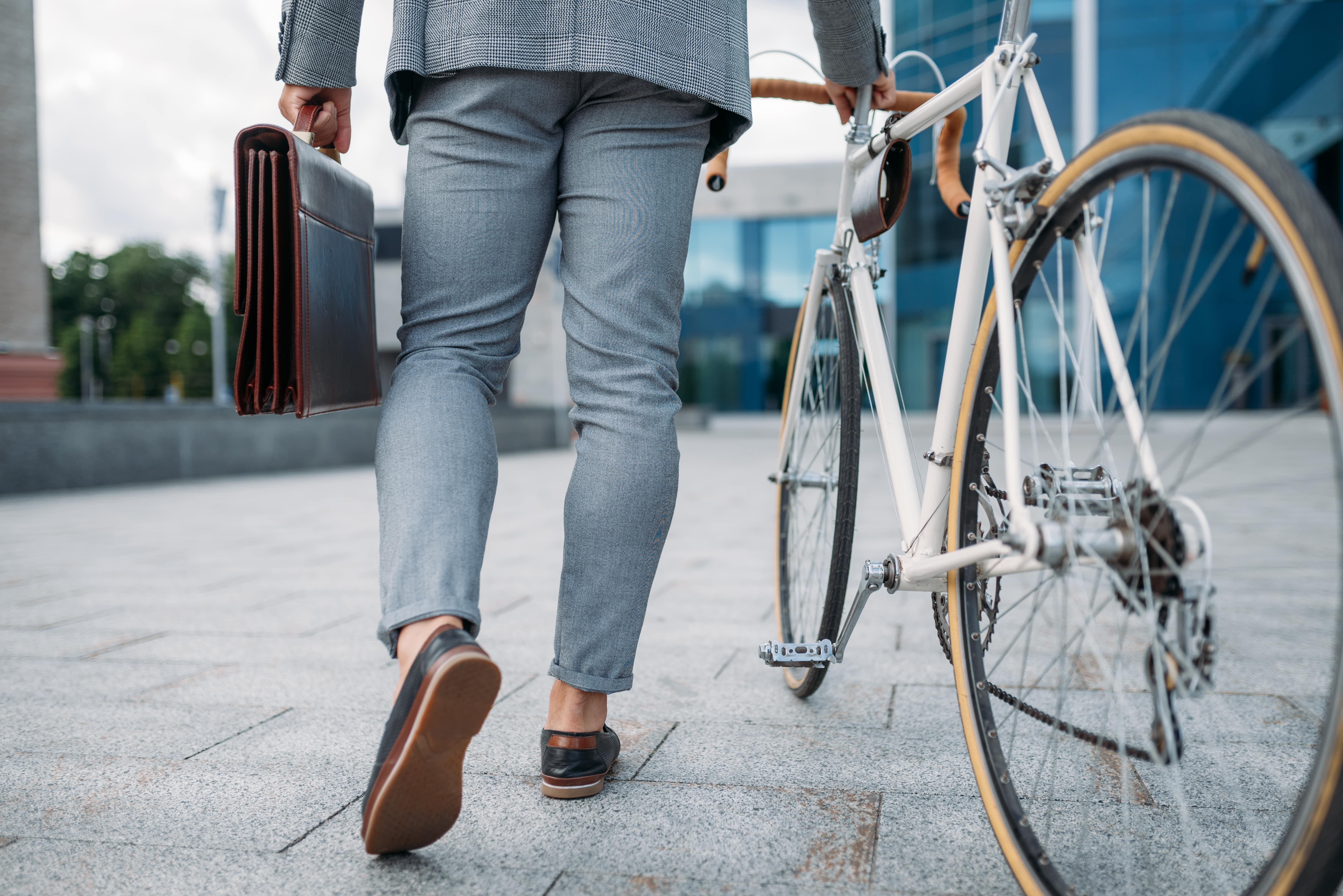 BGM Maßnahme: Fahrrad statt Auto