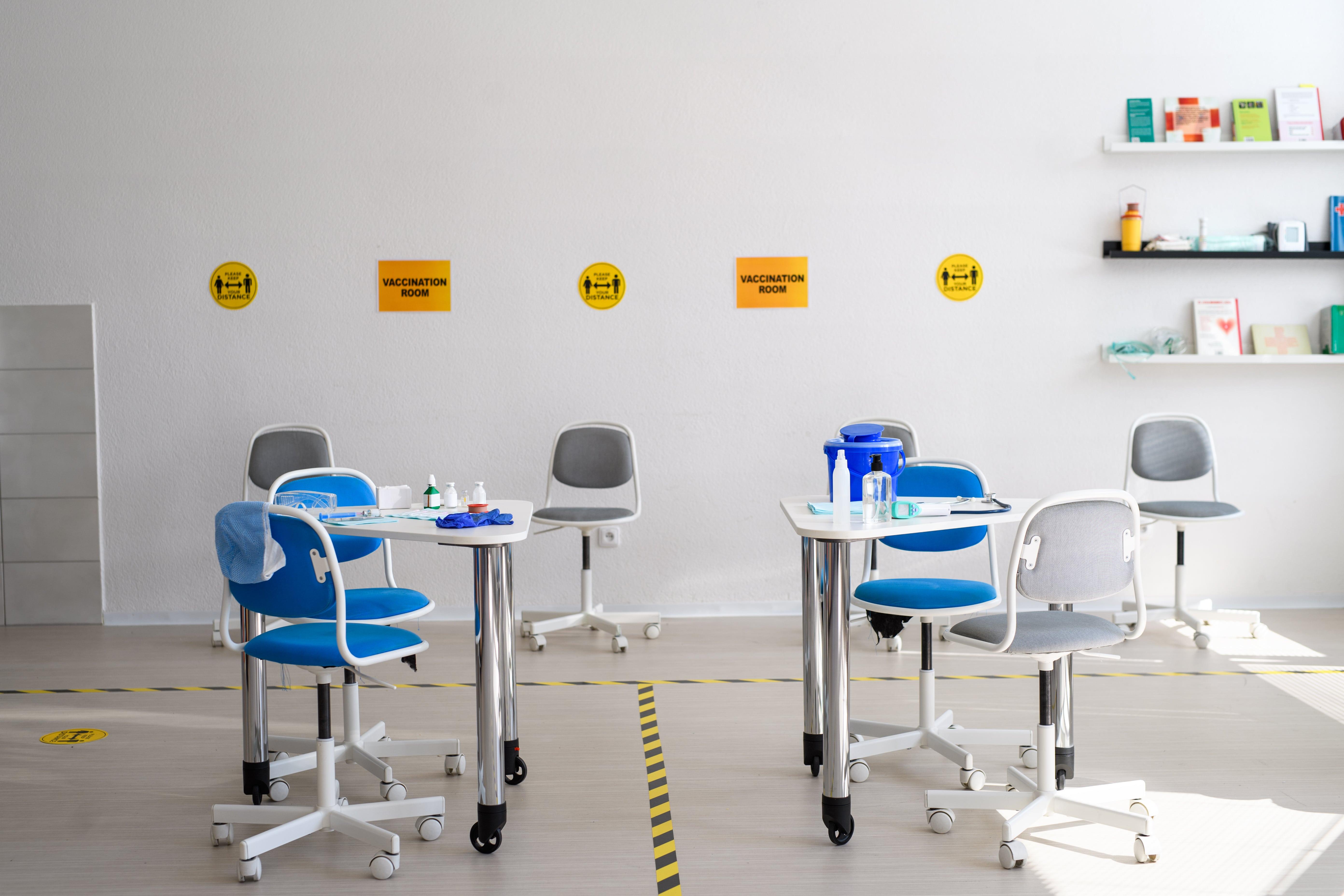Impfzentren für die Corona-Impfung gibt es überall in Deutschland
