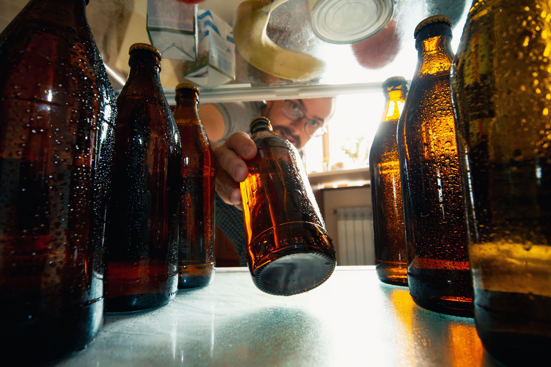 Erhöhter Alkoholkonsum