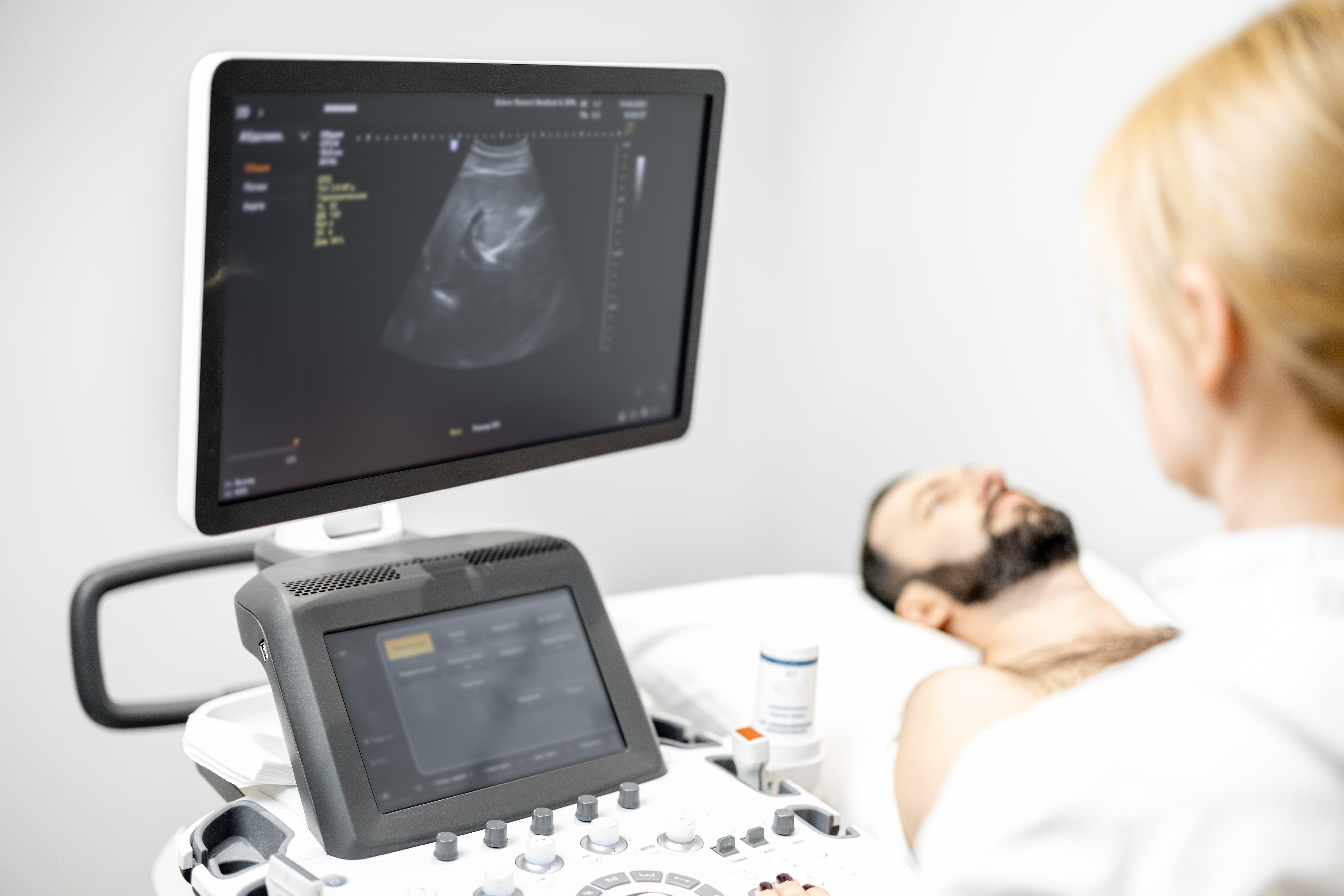 Ultraschall Untersuchung der Leber