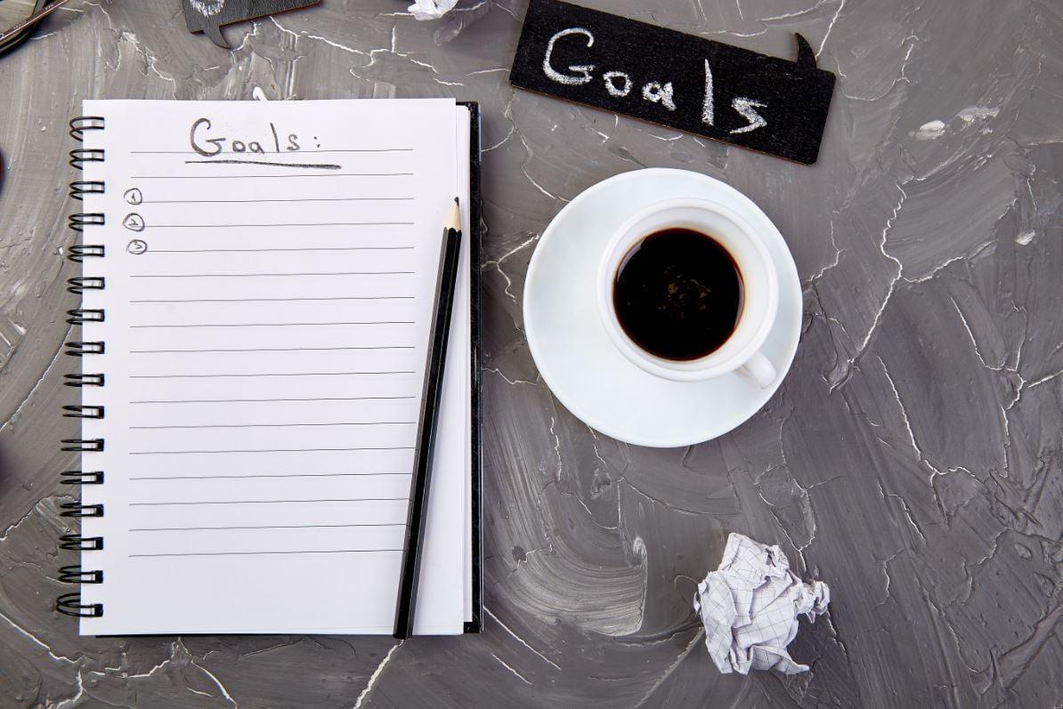 Gewohnheiten und Ziele
