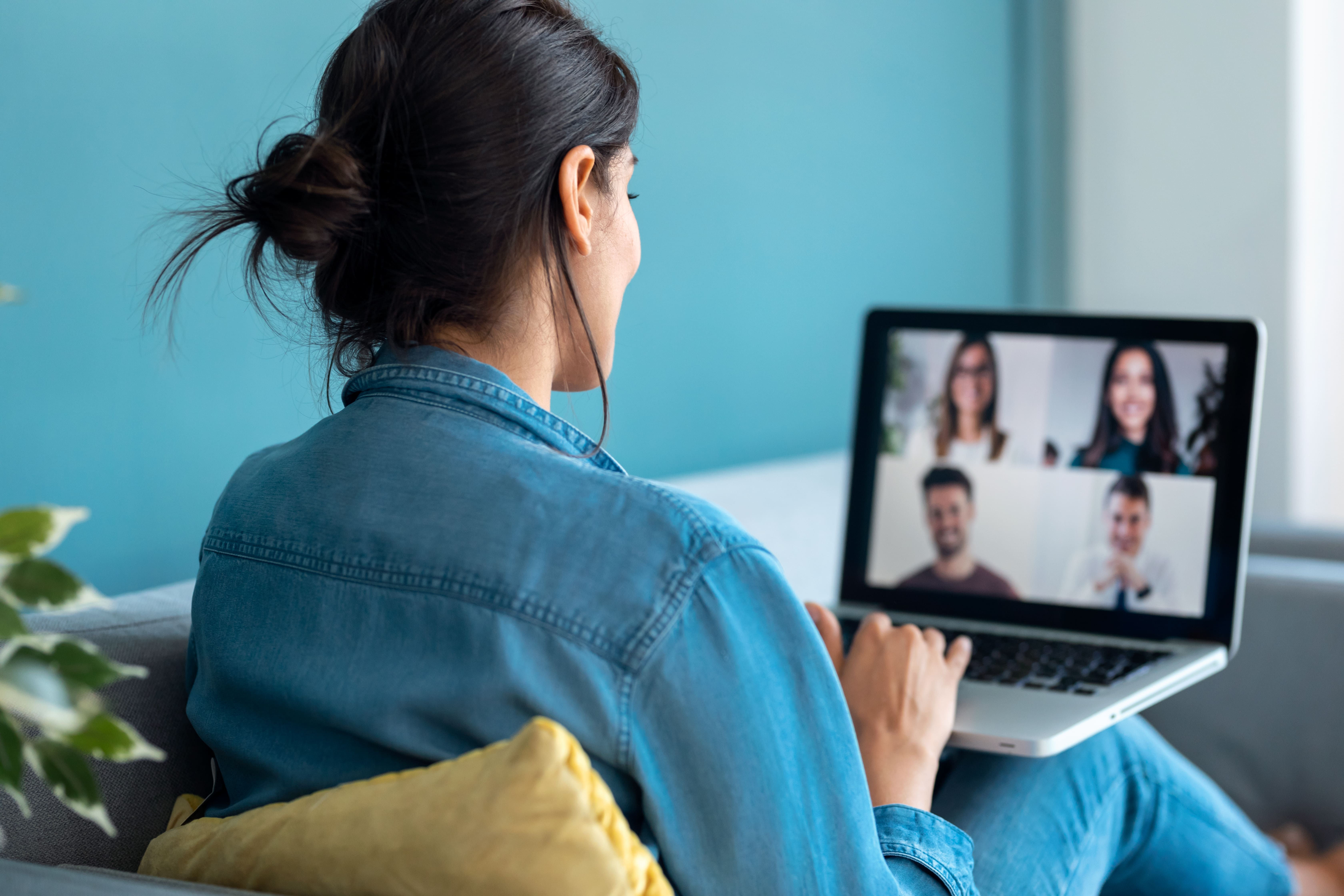Virtuelle Verabredungen mit den Kollegen