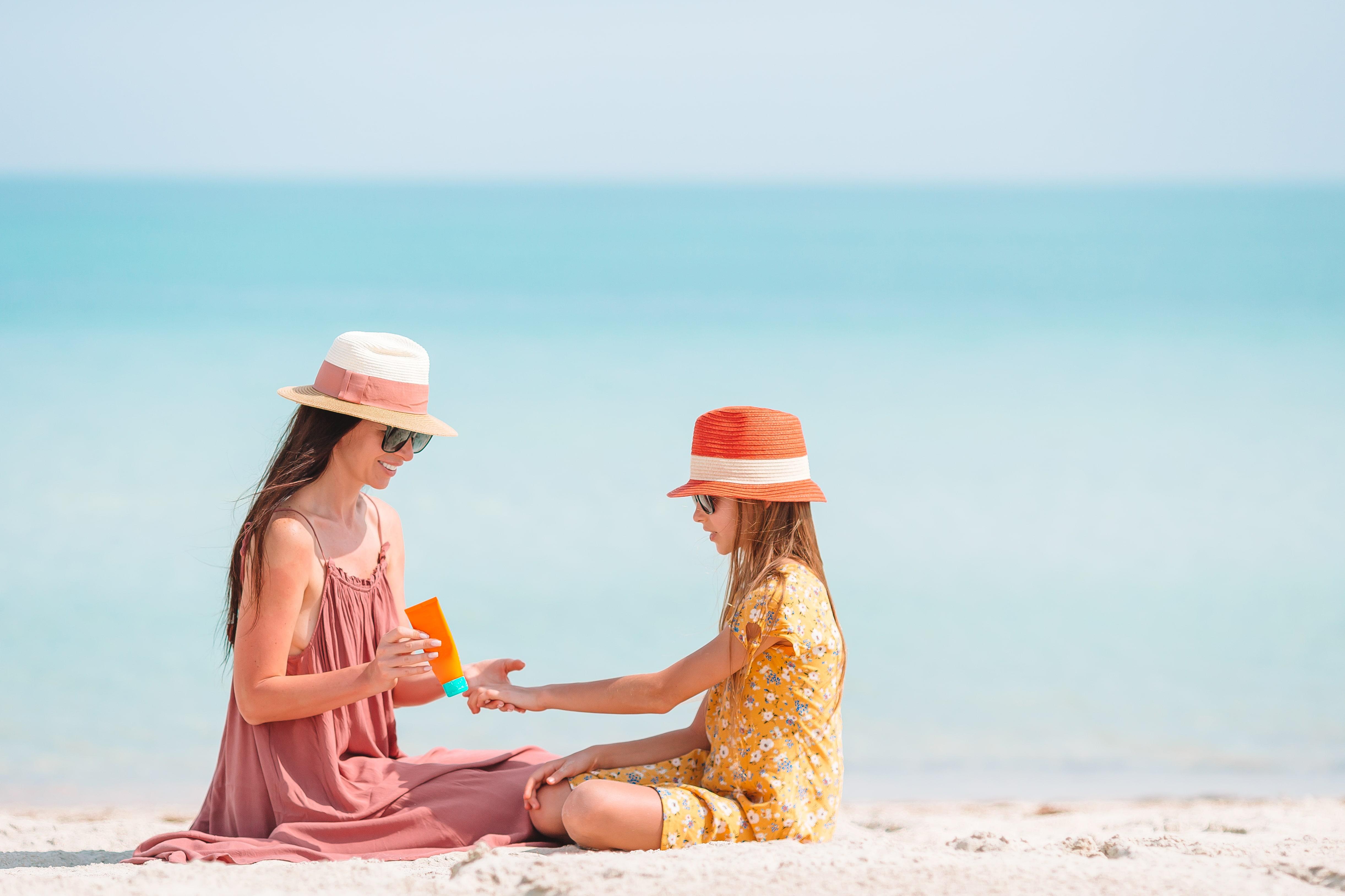 Sonnenschutz bei Kindern