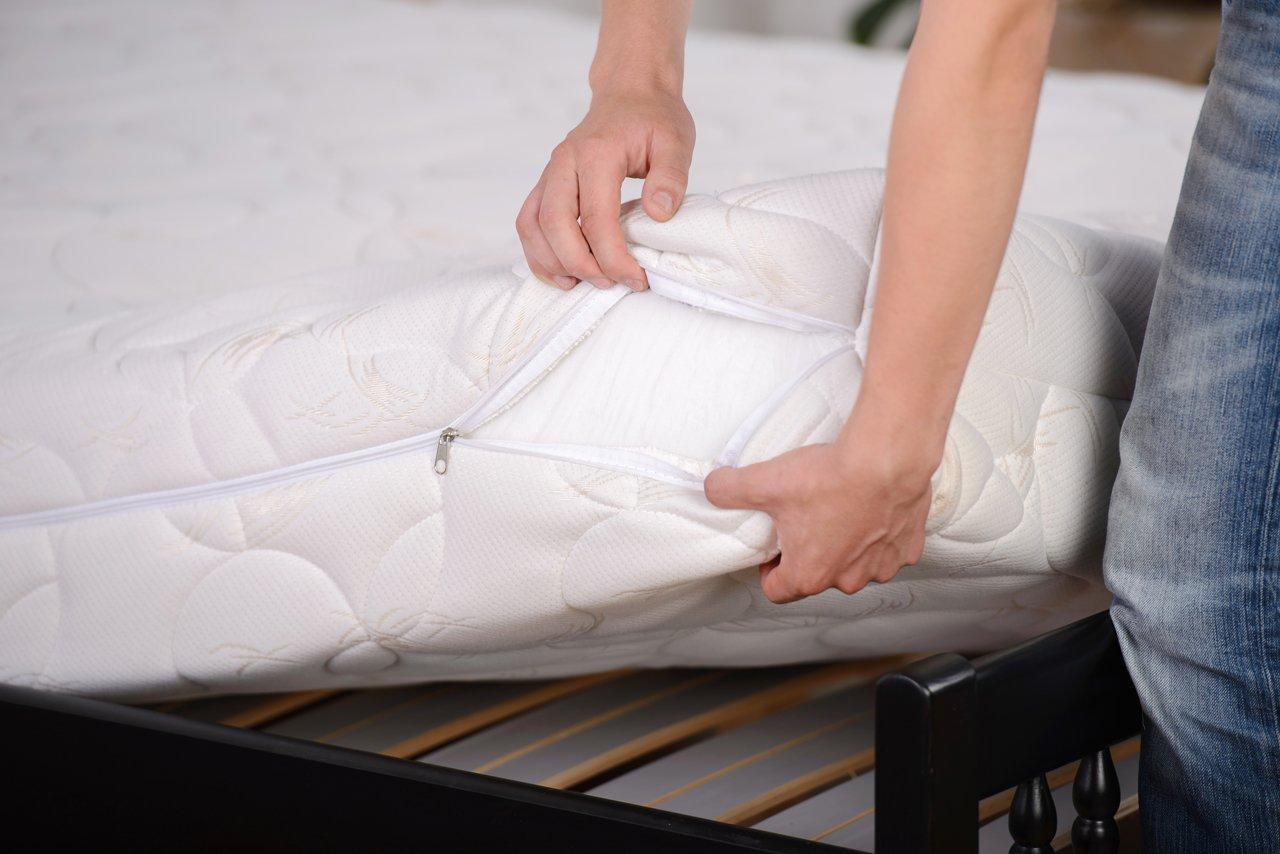 Die richtige Matratze sorgt für guten Schlaf.