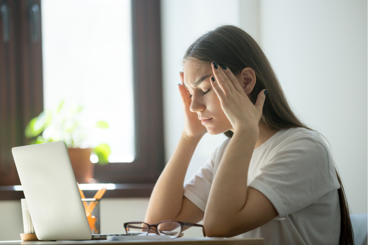 Stress Schreibtisch (Fizkes)