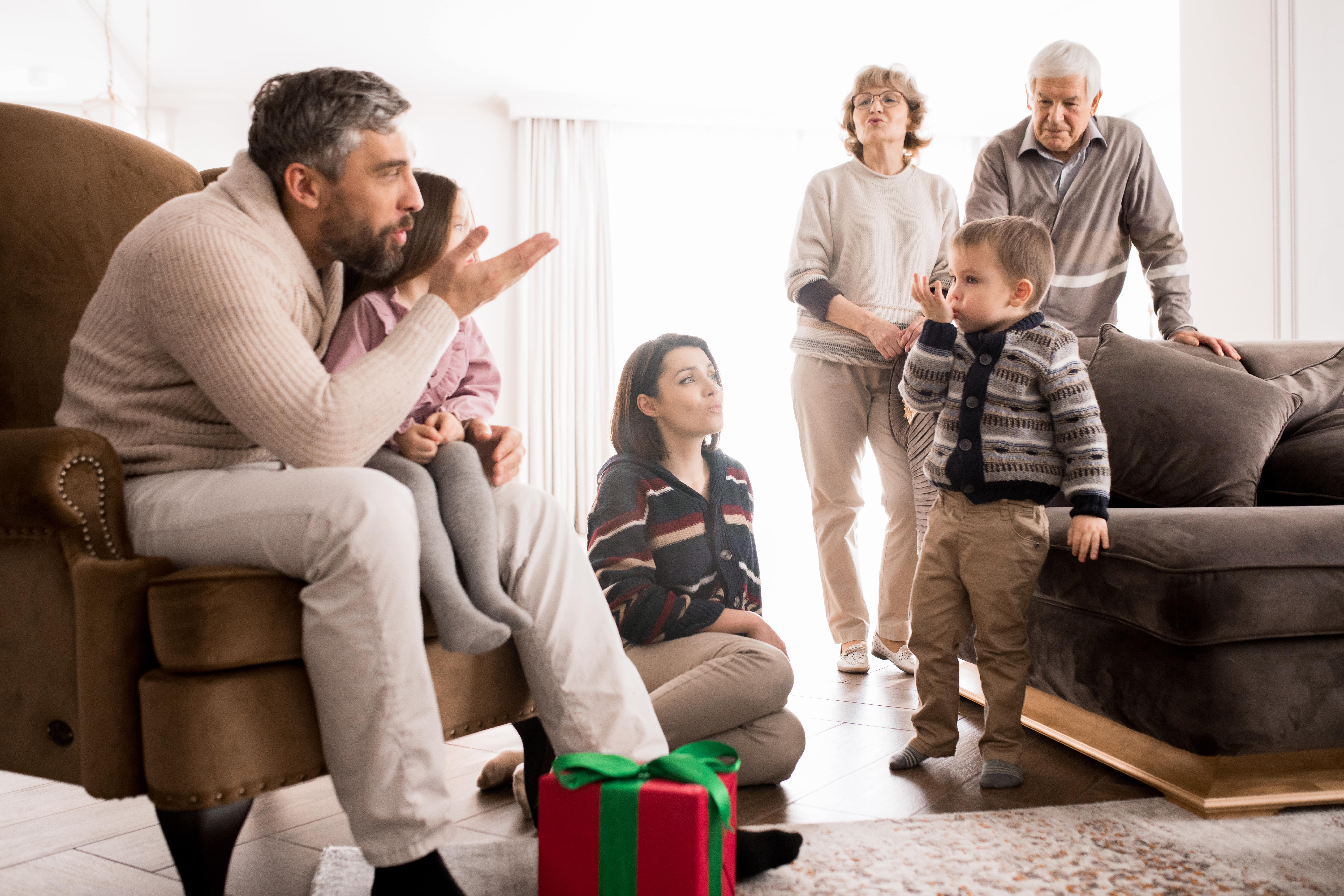 Absprachen innerhalb der Familie erleichtern die Planung
