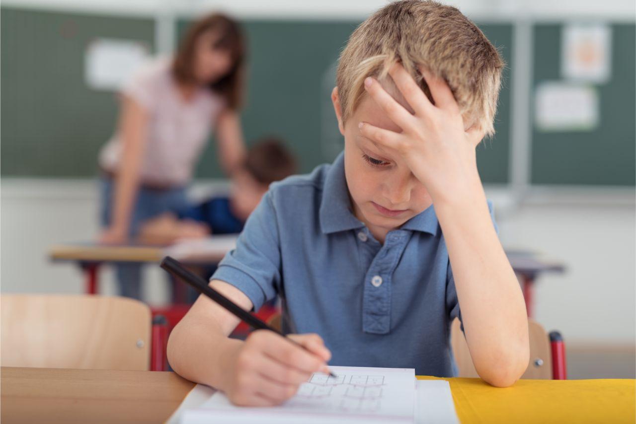 Kinder können sich nur kurz konzentrieren.