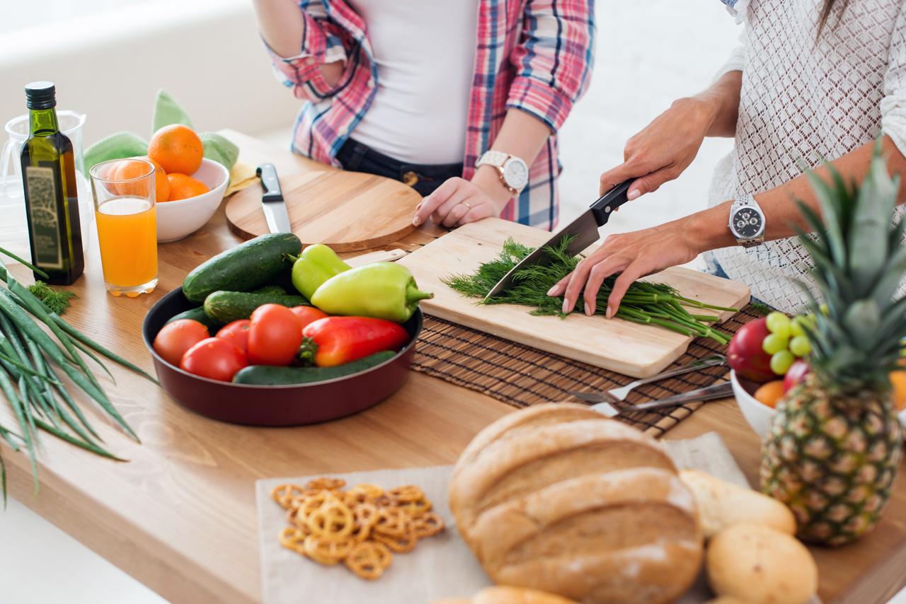 Gesundheitsprävention heißt sich gesund zu ernähren.
