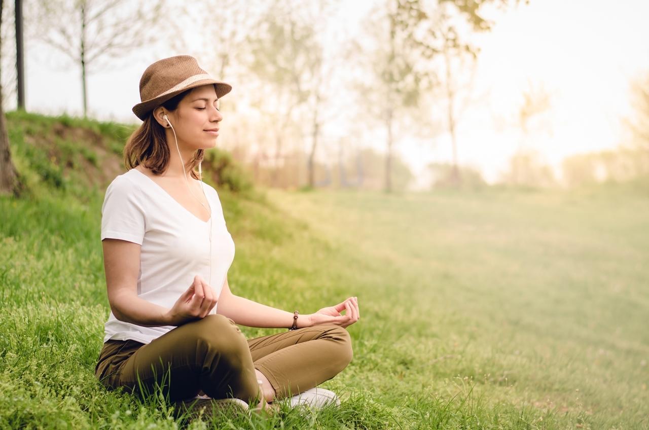Die geführte Meditation eignet sich vor allem für Anfänger.