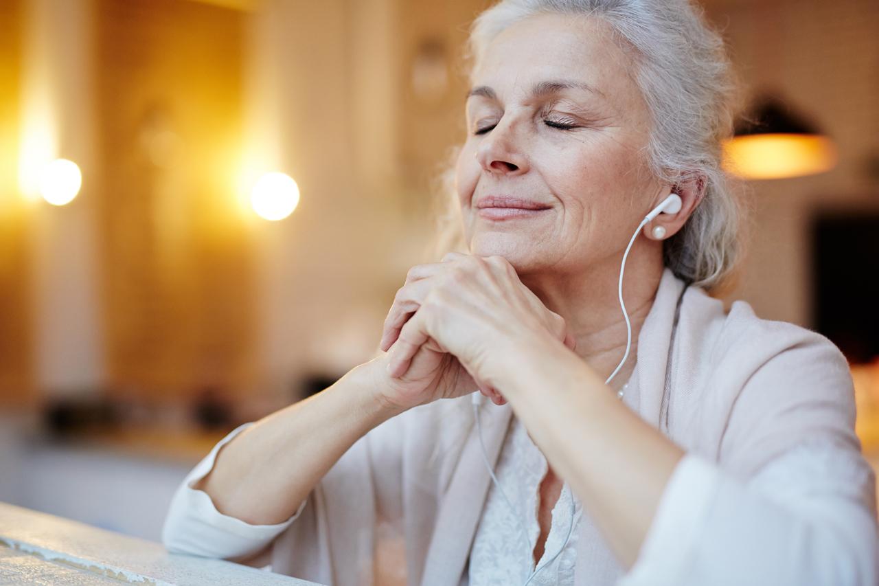 Mit Musik kann auch meditiert werden.