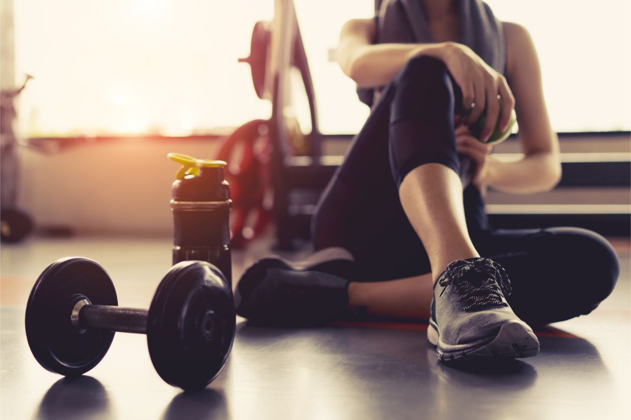 Fitness für mehr Bewegung im Alltag.