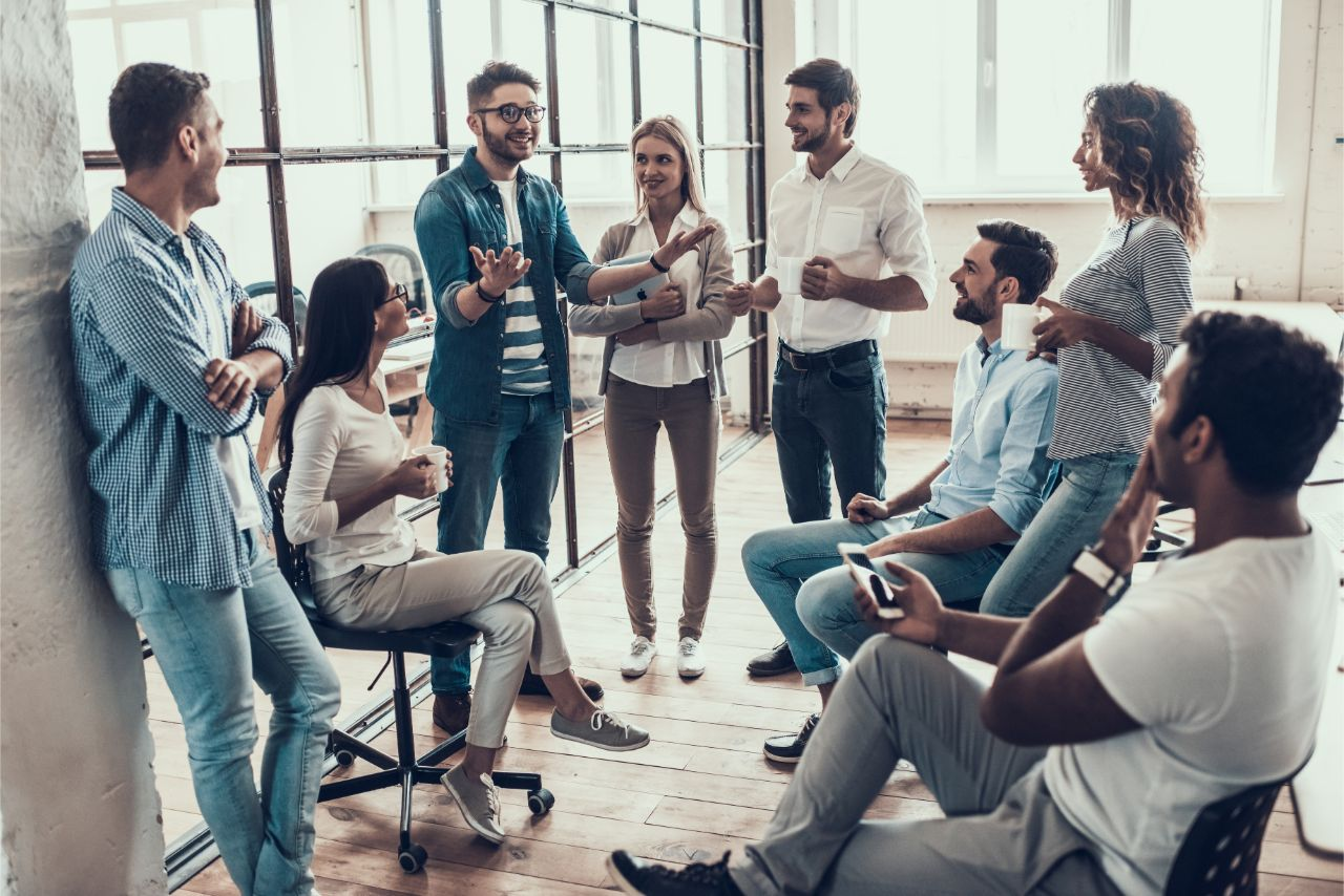 Jedes Unternehmen kann sich die Pausenzeiten selbst einteilen.
