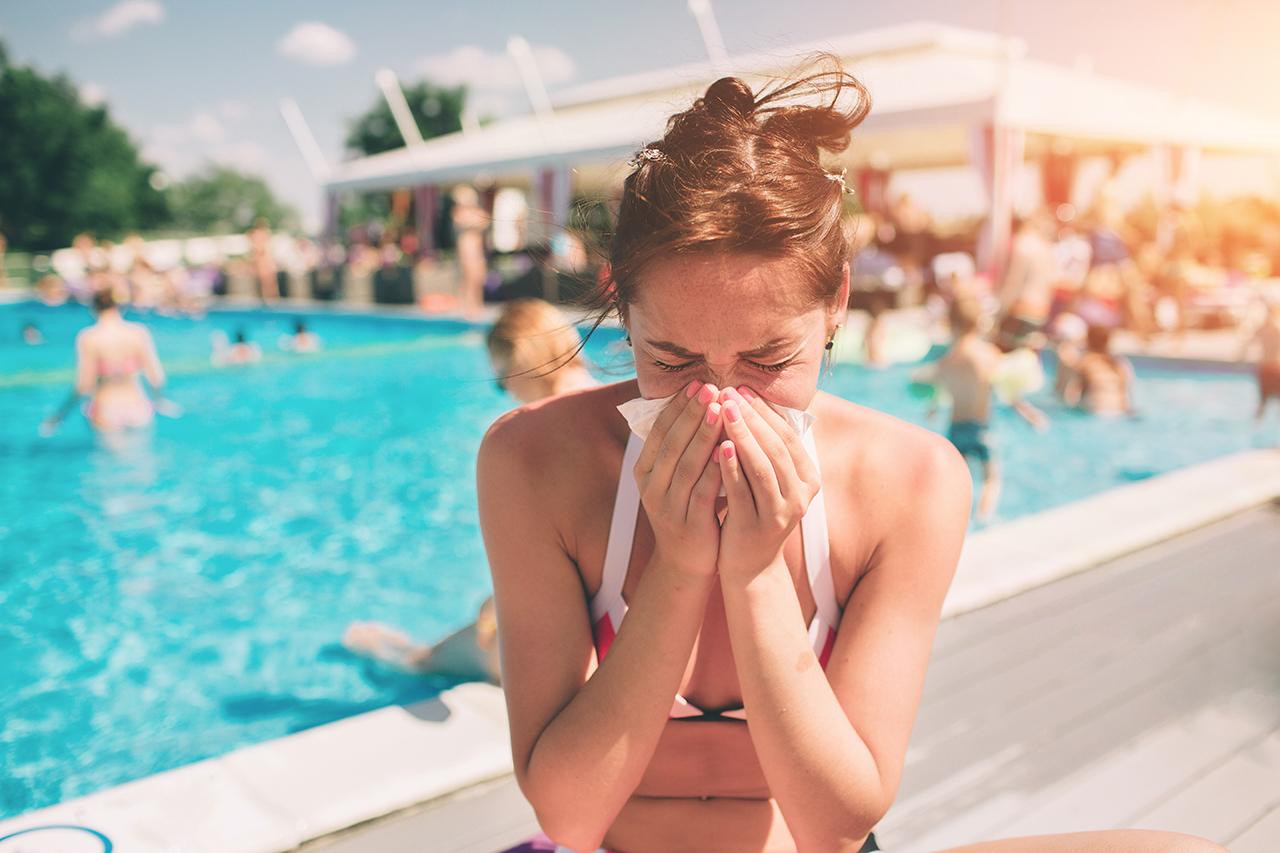 Urlaub dient der Erholung und nicht dem gesund werden.