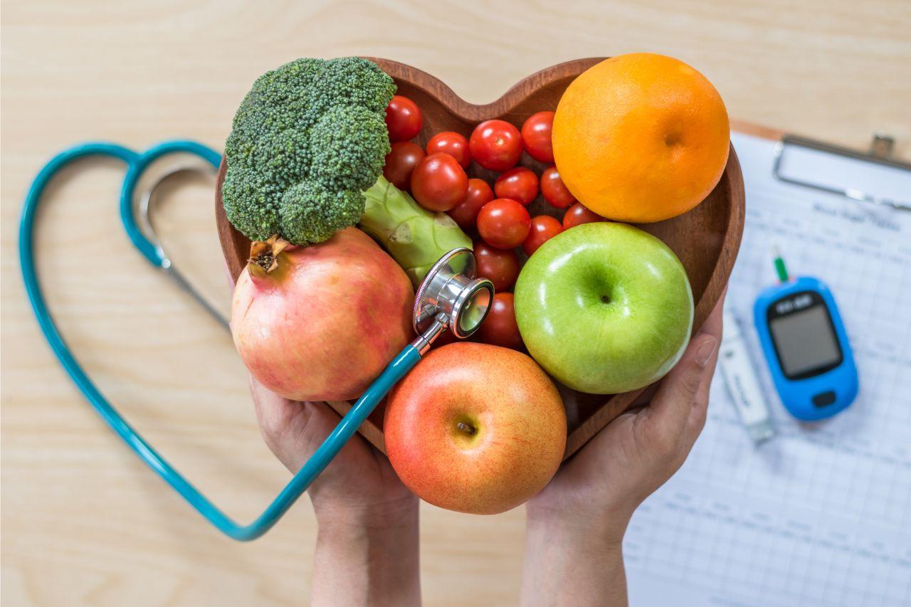 Obst und Gemüse kann Diabetes vorbeugen.
