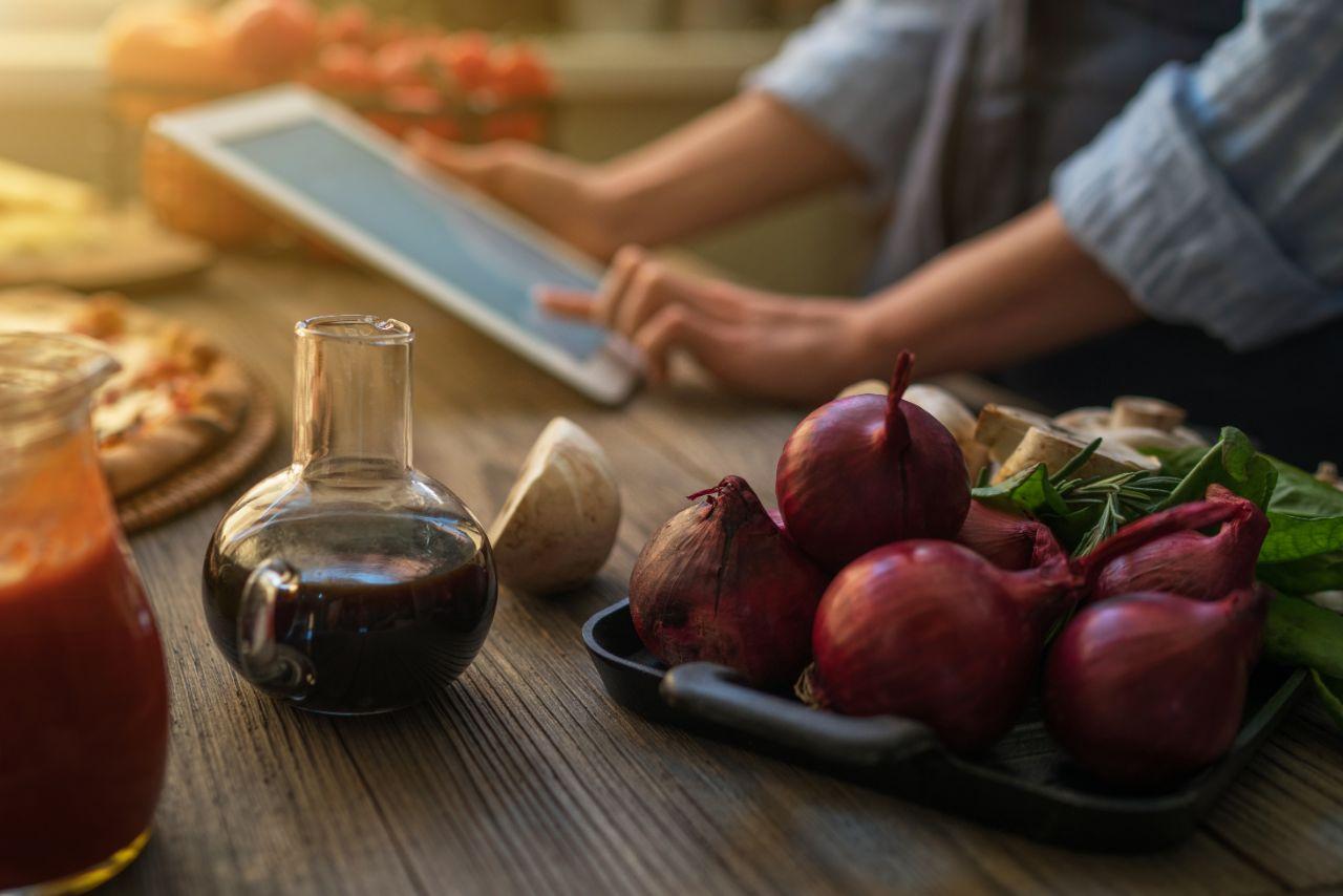 Rezepte, die praktisch mitzunehmen sind sind von Vorteil.