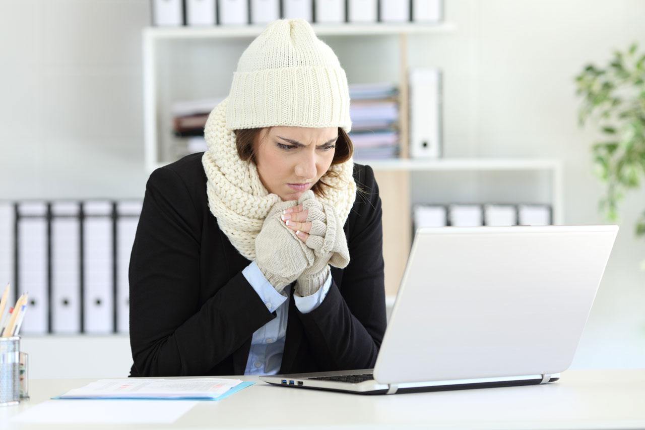 Durch das Home-Office ist man seltener krank.