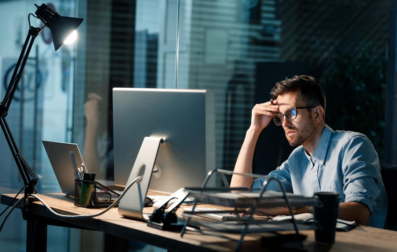 Stressige Situationen kommen meist im Arbeitsalltag vor.