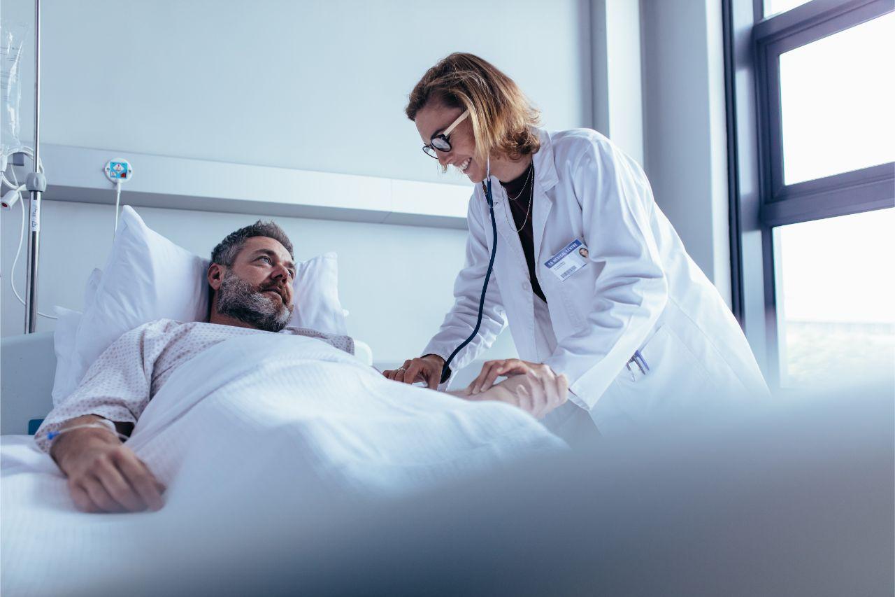 Im Falle eines diabetischen Komas ist ein Arzt aufzusuchen.
