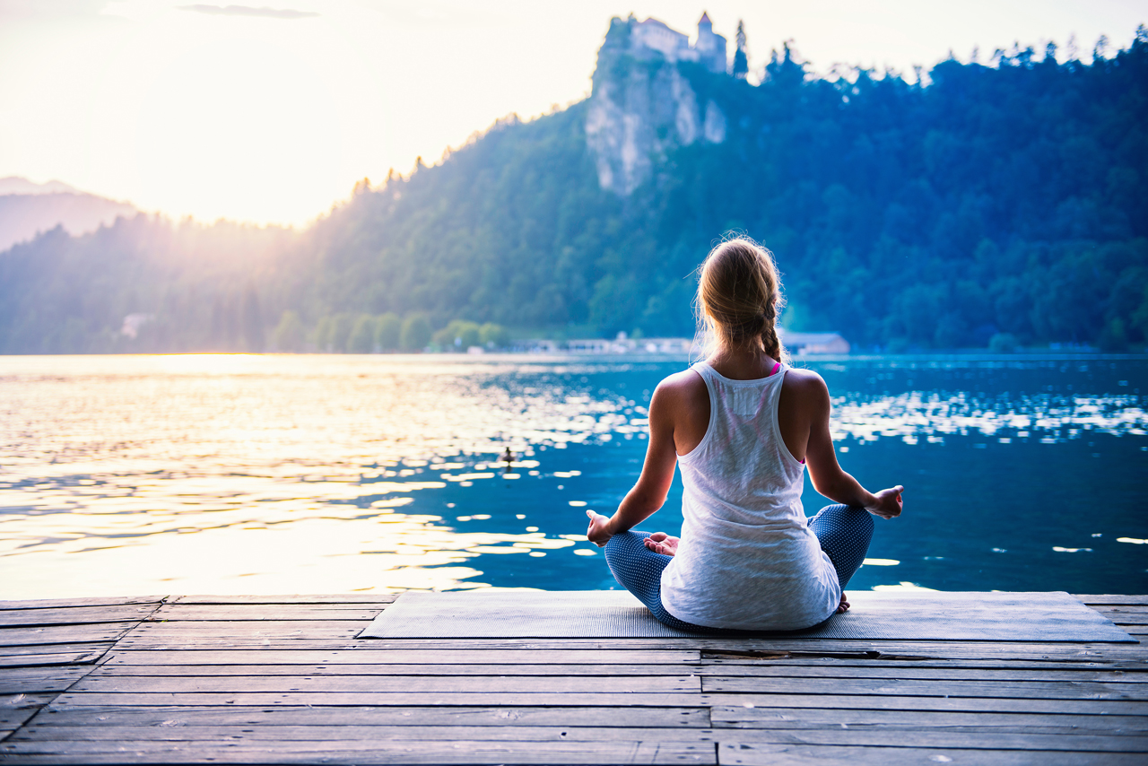 Feste Zeiten sind bei der gerführten Meditation wichtig.