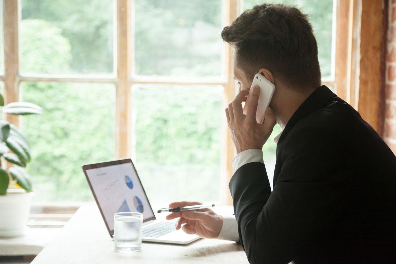 Durch Home-Office werden weniger Büroflächen benötigt.