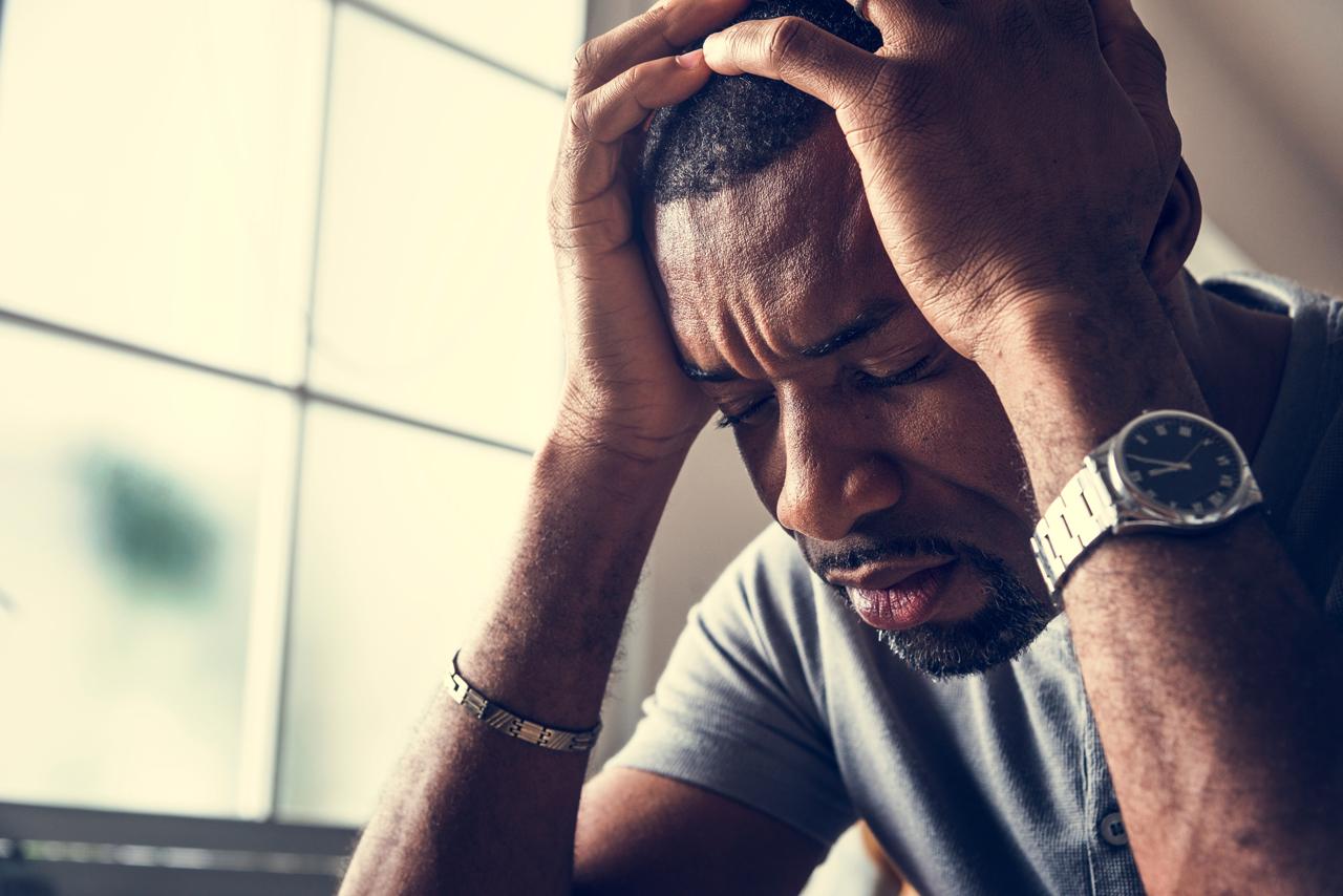 Auch psychische Probleme können Schlafmangel hervorrufen.