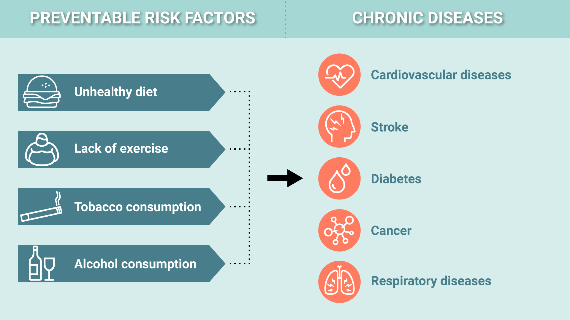 Preventable Risk Factors